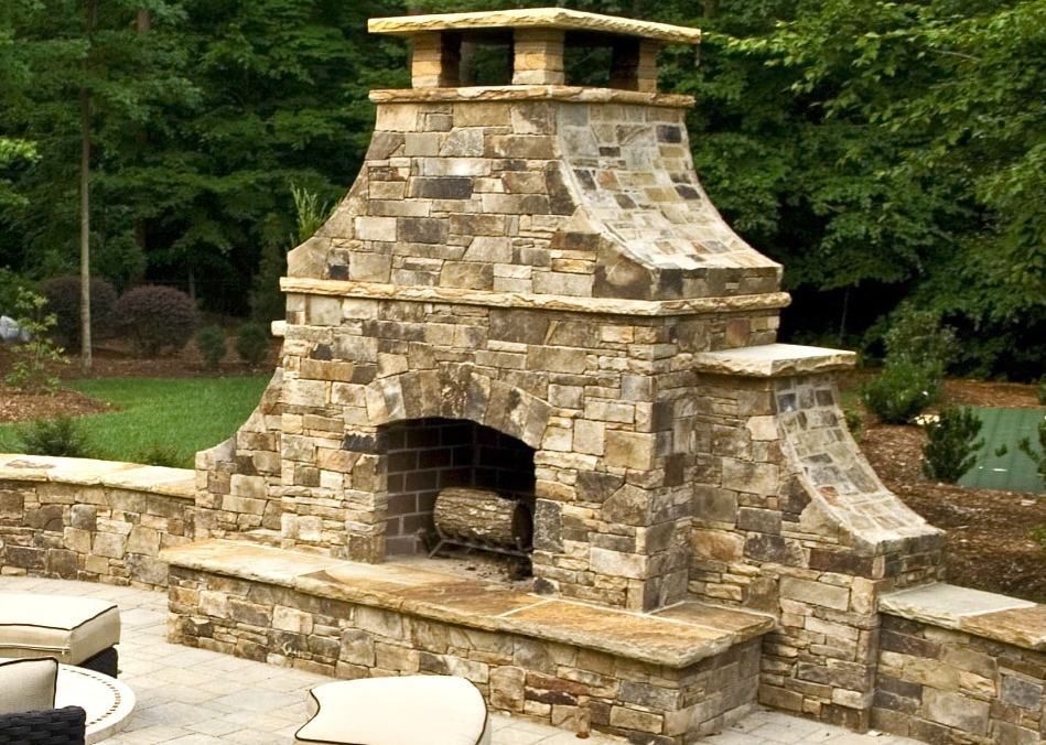 Fireplaces pacific resource brokers for Firerock fireplaces