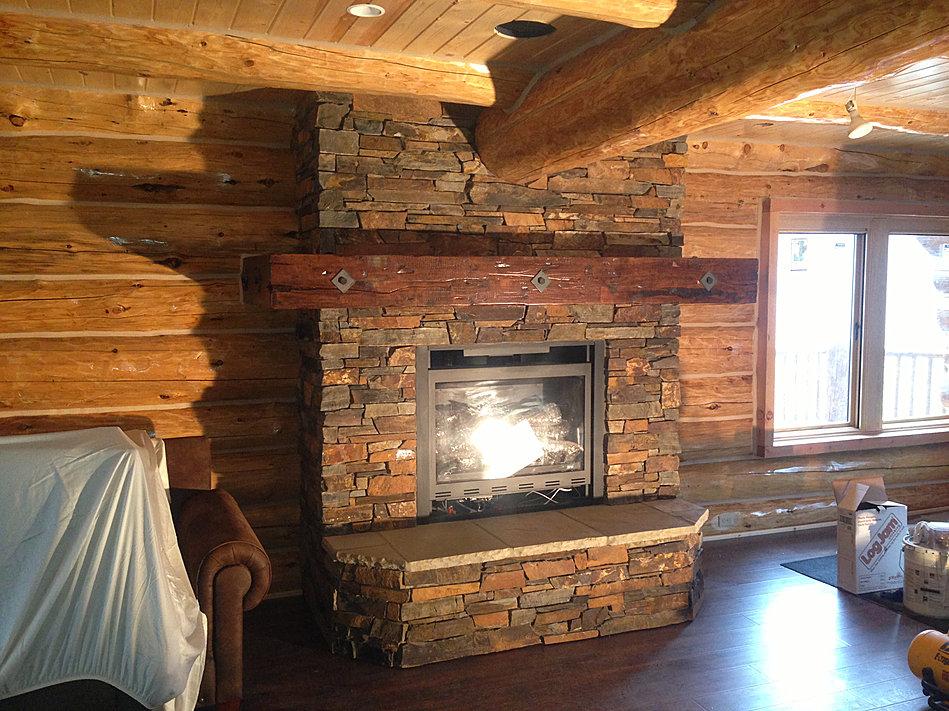 Cinnamon Lake Fireplace