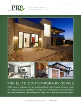 PRB Elite Contemporary Line Card