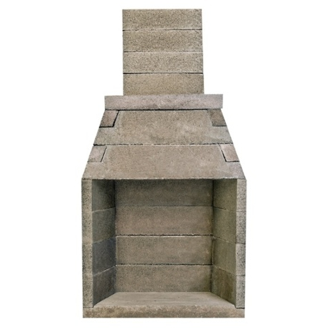 Firerock building materials pacific resource brokers for Pre engineered outdoor fireplace