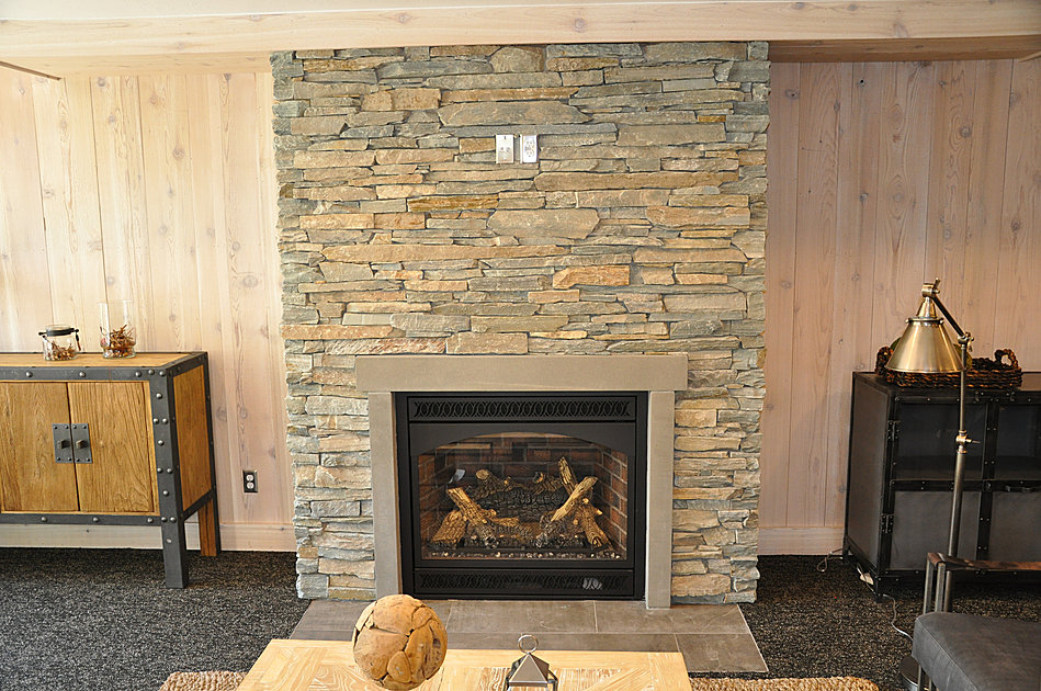 Water Mill Indoor Fireplace