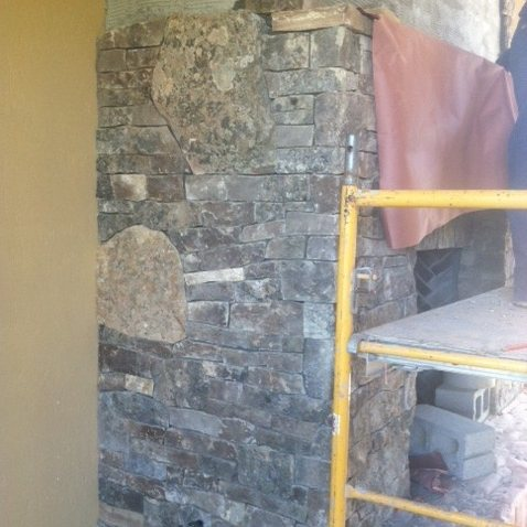 High Country Fieldstone Hearths, Mantles & Slabs