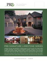 PRB Limestone Series Line Card