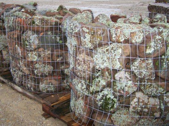 Oklahoma Moss Boulders