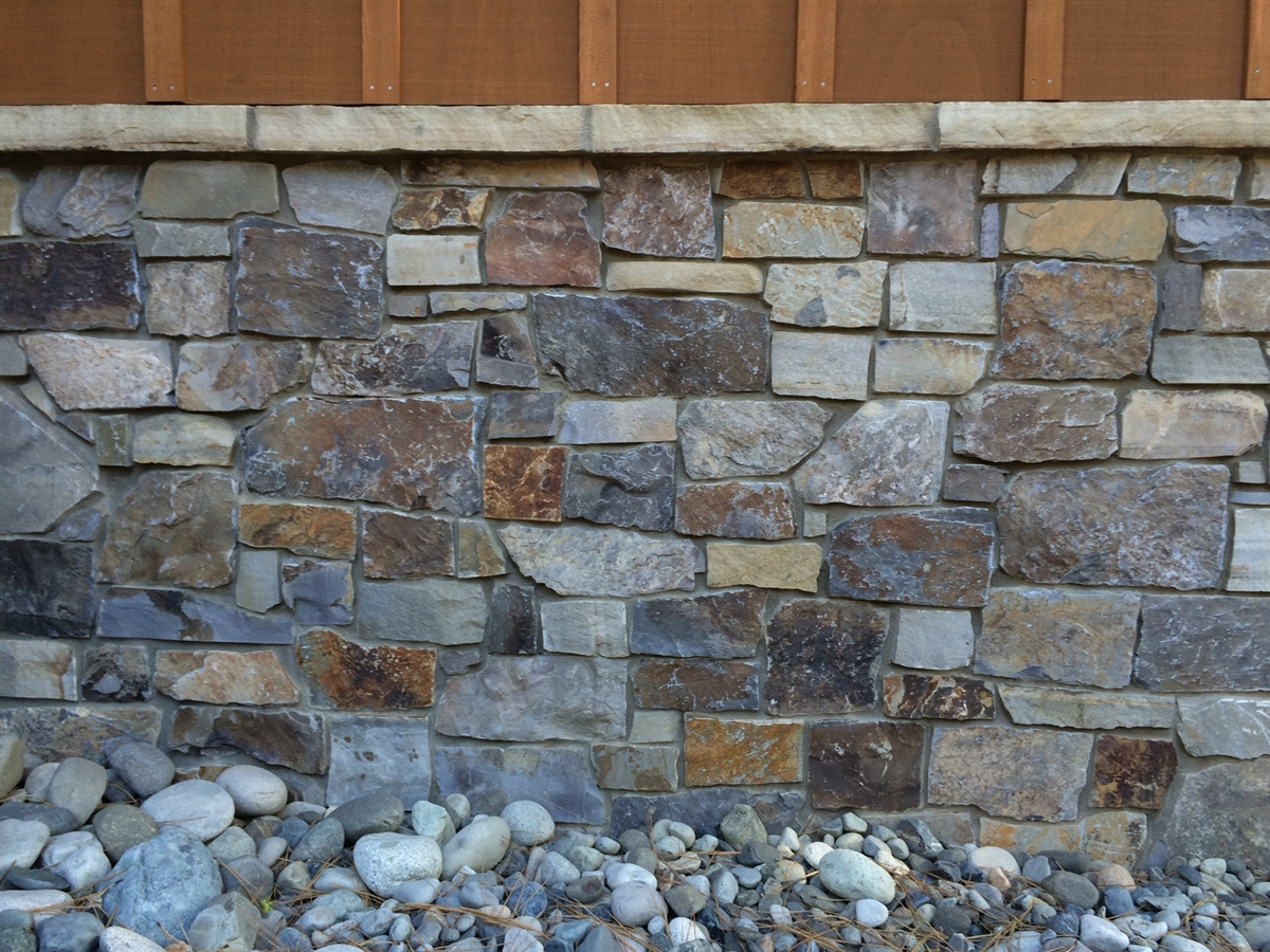 Natural Stone Veneer : Wapiti mountain natural stone veneer pacific resource