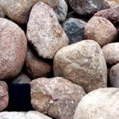 Wisconsin Glacial Granite Boulders
