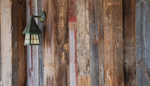 reclaimed wood - siding