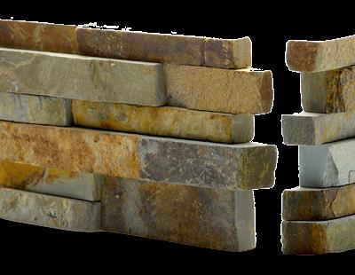 Norstone Rock Panel Ochre Blend