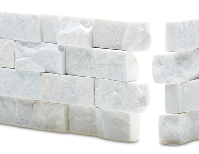 Norstone Rock Panel White
